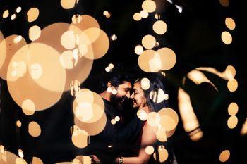 Photo of Bokeh couple shot