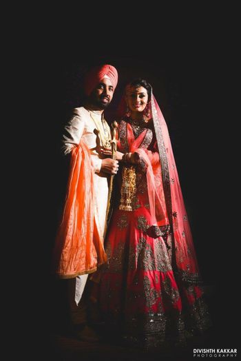 Sikh Couple Portrait