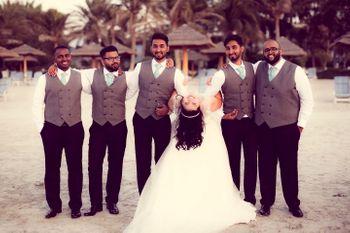 Photo of groomsmen photo