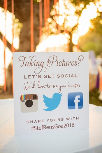 Photo of Fun message notes on wedding