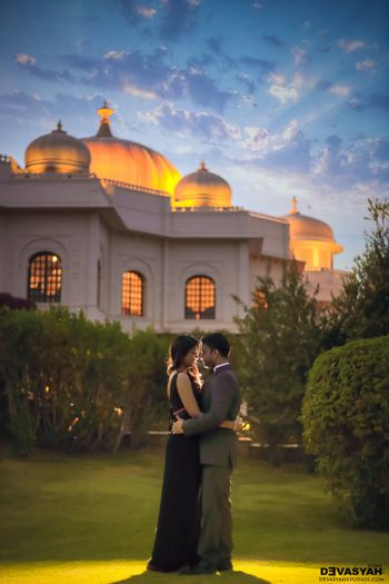 Photo of Romantic pre wedding shoot at fort venue