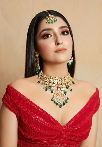 Bridal jewellery for engagement