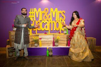 Photo of Ideas to display funky wedding hashtag