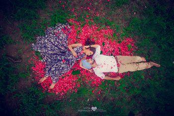 Photo of romantic shoot