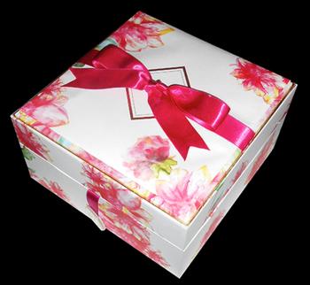 floral print box