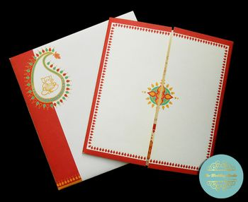 Photo of traditional invitations