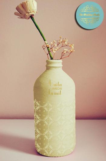 Photo of customised bottles