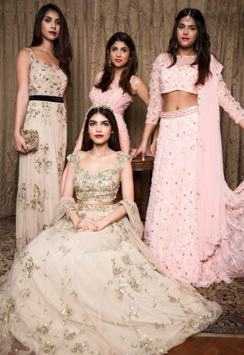 Photo of bridesmaids outfits
