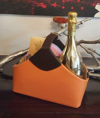 Photo of orange bucket