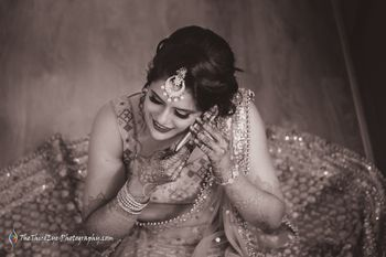 Photo of Candid bride shot