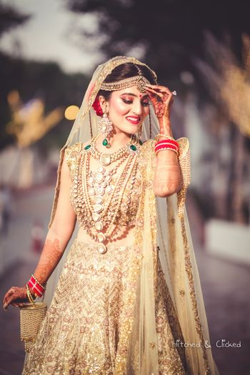 Stunning bridal shot