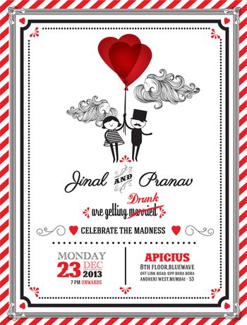 Photo of wedding invitation wordings