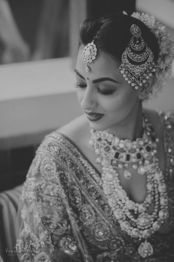 Photo of  Gorgeous Black and white bride shot