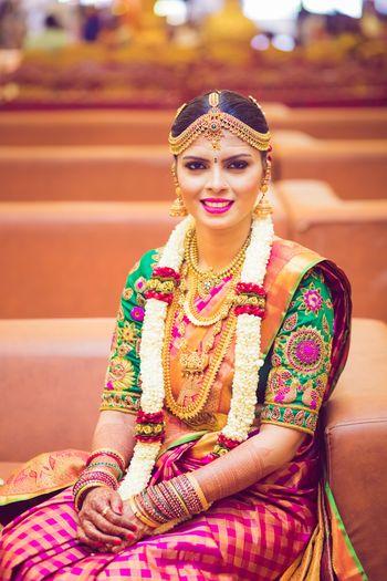 South Indian bride shot