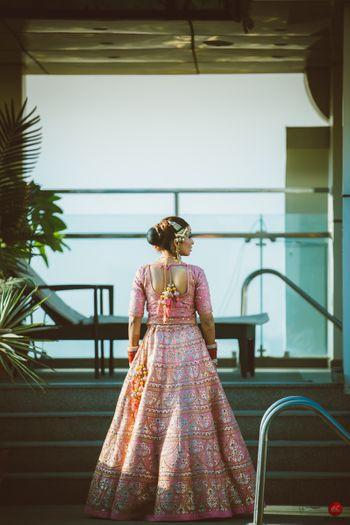 Bride back shot!
