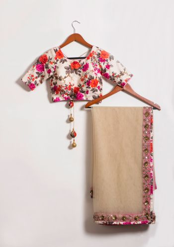 Photo of floral print blouse