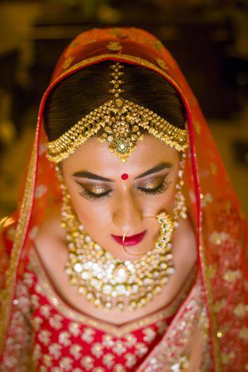 Beautiful  bride shot