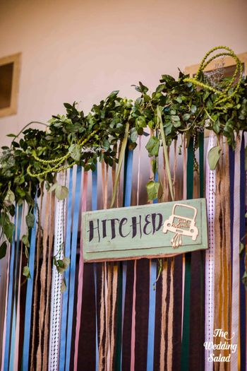 Photo of Hitched board in decor
