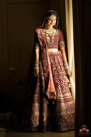 Photo of Gorgeous bride shot