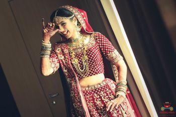 Candid bridal capture