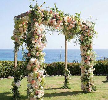 All floral fairytale mandap