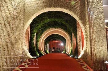 tunnel flower decor