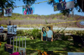 Photo display idea with strings