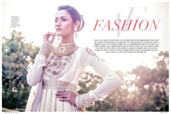 white and gold anarkali suit