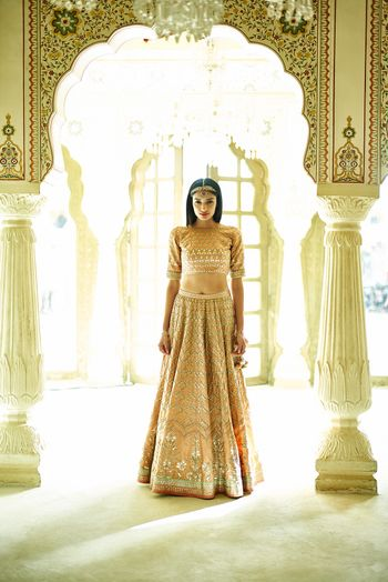 Casual and light lehenga