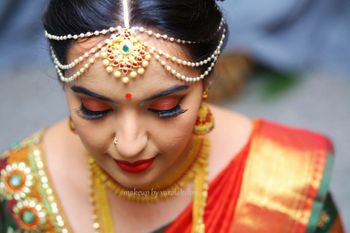 South Indian bridal makeup