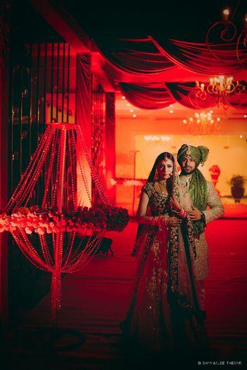 Photo of Wedding day couple Portrait