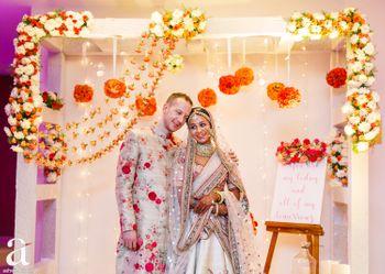 Wedding day couple portarit