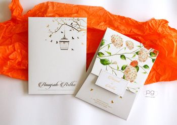Photo of Elegant Wedding Invitation Card