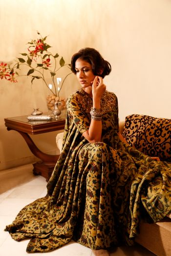 earthy colours anarkali