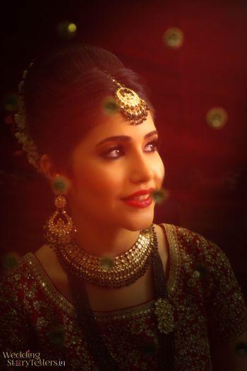 Beautiful bridal portarit