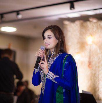 Photo of Dia mirza at celebrity wedding