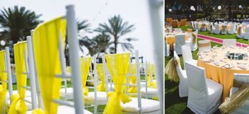 Photo of yellow chairs