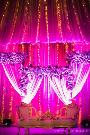 Photo of Simple and elegant stage decor