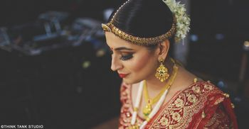 Stunning bridal shot