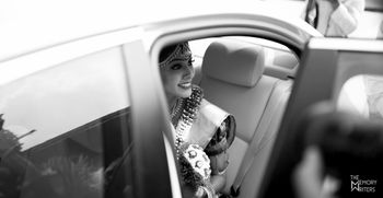 Beuatiful black and white bride shot