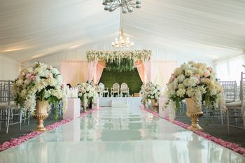 Indoor floral decor