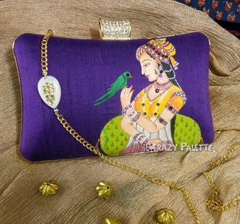 mughal themed clutches