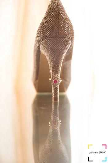 Diamond Ruby Ring on Stilettoes