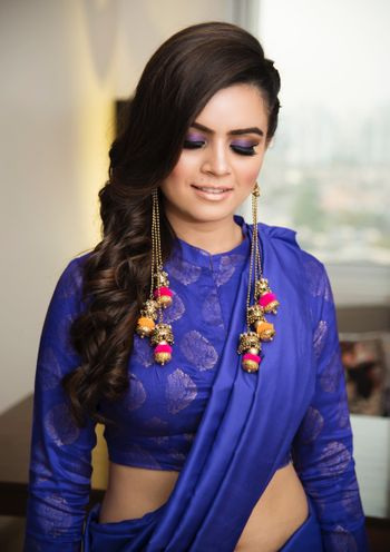Sister of the bride look for mehendi