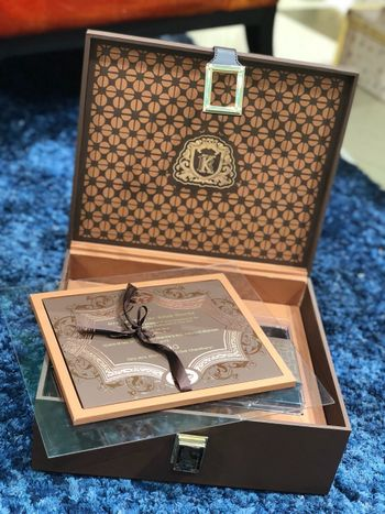 Photo of Resuable wedding invite box