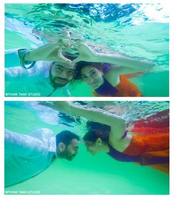 Underwater prewedding shoot ideas