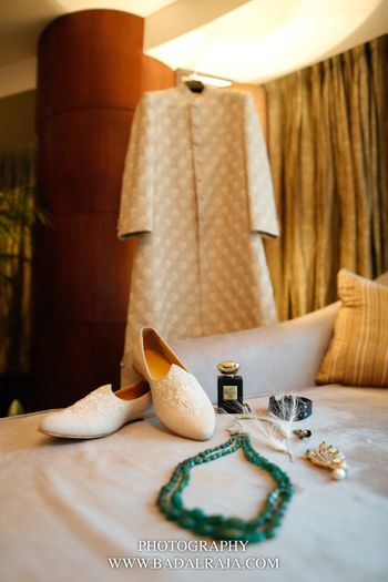 Groom accessories on display