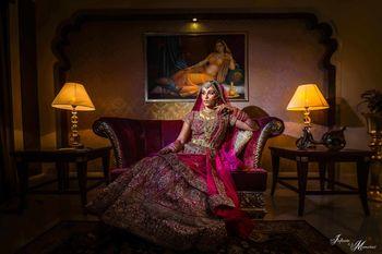 Royal bridal portrait pose ideas