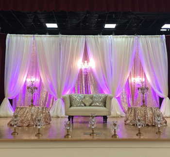 Photo of silver and white decor