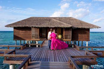 Maldives pre wedding shoot abroad